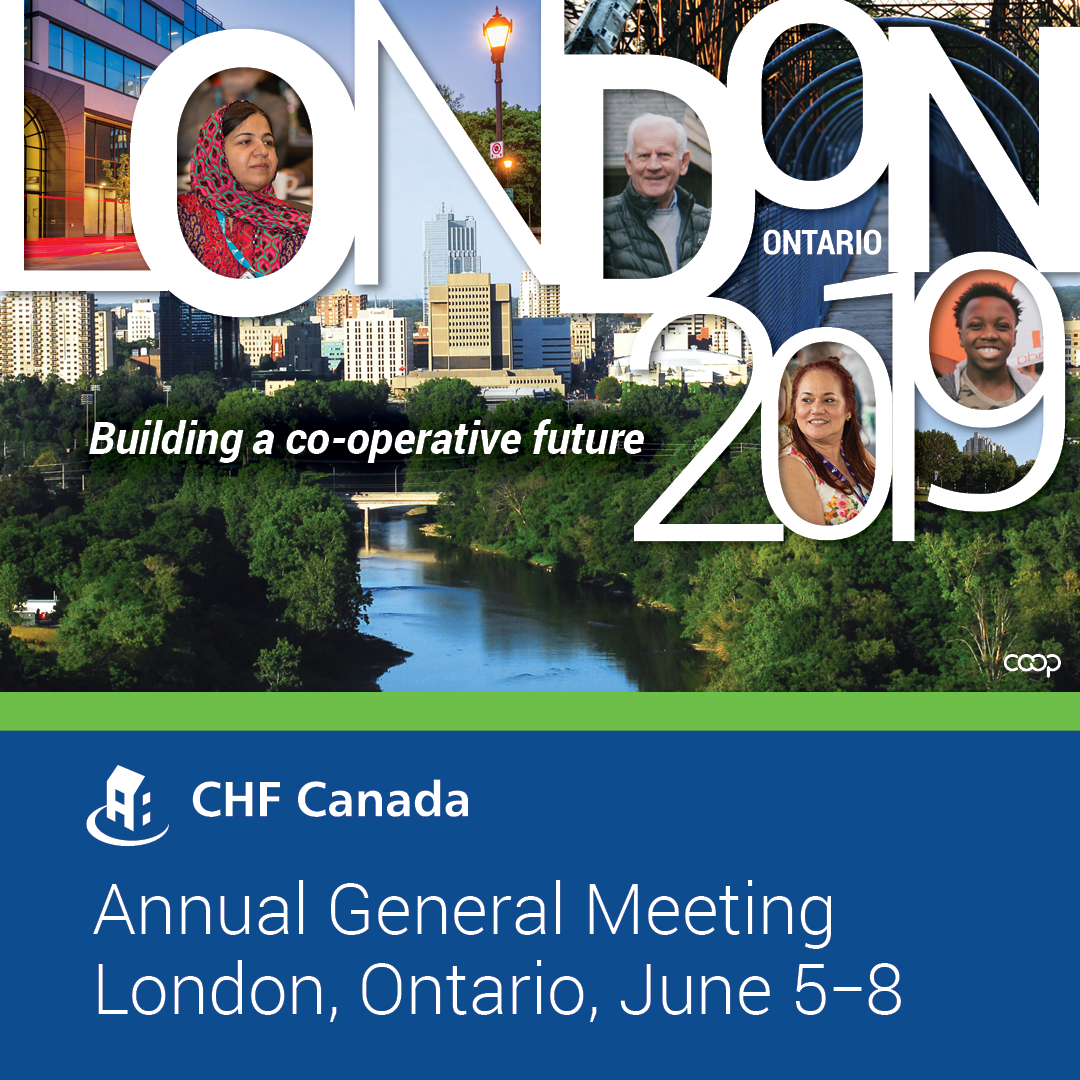 Bursary  Deadline - CHF Canada AGM - London, ON