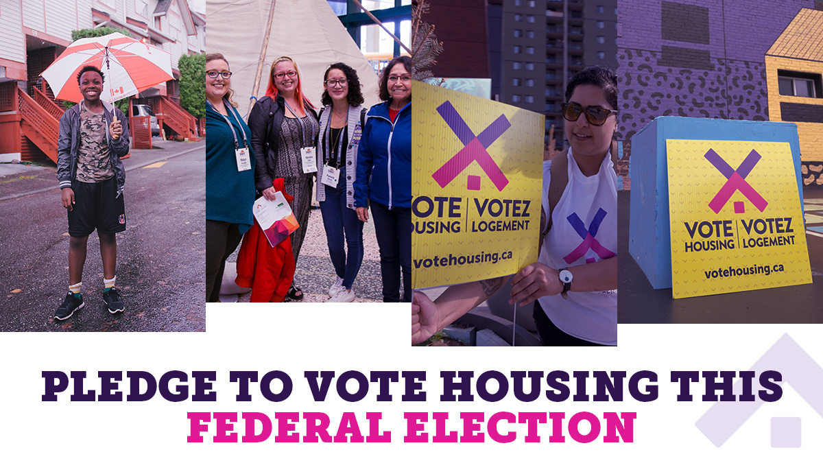 Federal Election Day - Vote Housing